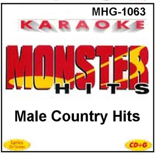 Monster Hits Karaoke #1063 - Male Country Hits