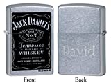 Personalized Zippo Jack Daniel's Old No. 7 Label Lighter with Free Engraving