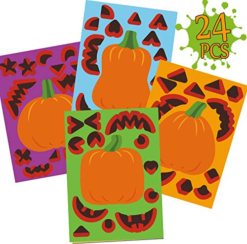 Best jack o lantern face stickers list