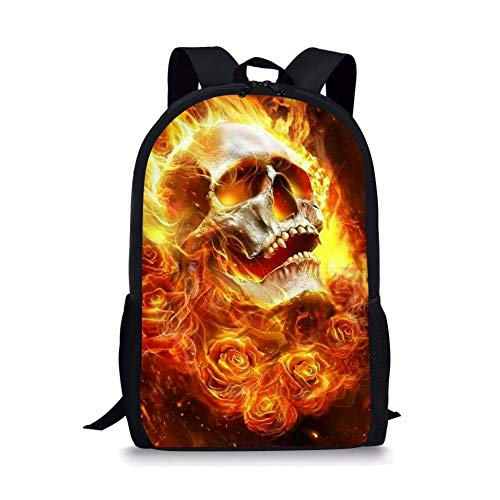 GOSTONG 3D Human Skeleton Magic Color Kid Backpack Book bags For Girls - 3d Human Skeleton