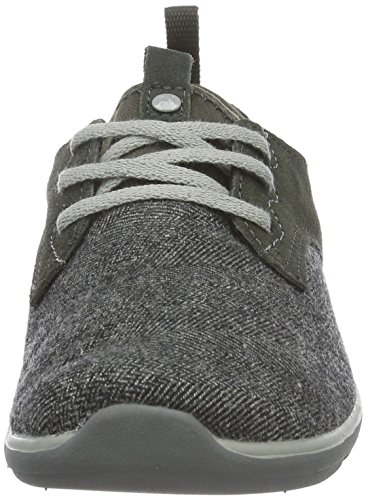 Merrell Women's Getaway Shakra Lace Low-Top Sneakers, Grey (Herringbone/Lt Grey), 5 UK 37 1/2 EU