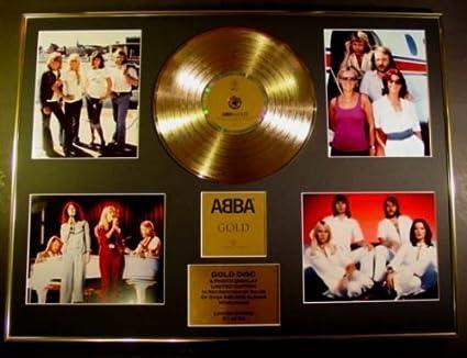 ABBA//Goldene Schallplatte Record Limitierte Edition//ABBA