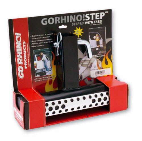 "Go Rhino! 325B Step Black 2"" HitchStep"