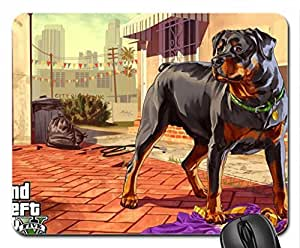Grand Theft Auto V Mouse Pad, Mousepad (10.2 x 8.3 x 0.12 inches)
