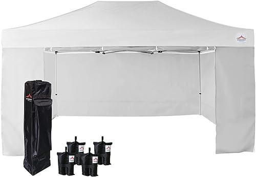 UNIQUECANOPY 10'x15' Ez Pop Up Canopy Tent Commercial Instant Shelter