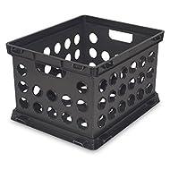 Sterilite File Crate - Black