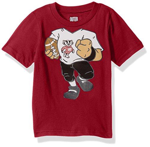 Badger Football T-shirt (NCAA Wisconsin Badgers Children Boys