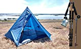 River Country Products Trekker Tent 3 Combo Pack, Lightweight Four Person Backpacking Tent with Trekking Poles