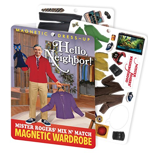 Hello Neighbor - Mister Rogers Magnetic Dress Up Play Set - Mr Bill Costumes