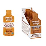 Vermont Village Organic Apple Cider Vinegar Shot - Turmeric & Honey...