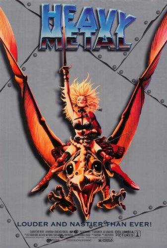 1996 Heavy Metal 27 x 40 inches Style A Movie Poster Poster