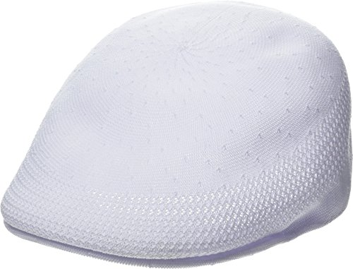 (Kangol Men's Tropic 507 Ventair Ivy Cap, White,)