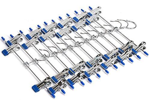J S Hanger Hangers 2 Adjustable 12 Pack