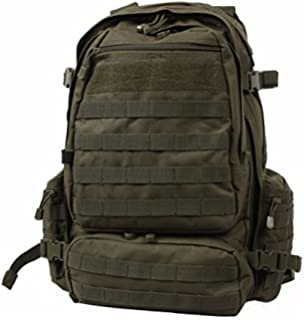 Amazon.com   Rothco Global Assault Pack- Black   Sports   Outdoors 1df916e0d7