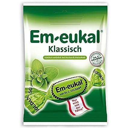 4x Em eukal Klassisch zuckerfrei (suger free), 75 g (German Import)