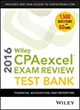 img - for Wiley CPAexcel Exam Review 2016 Test Bank: Financial Accounting and Reporting book / textbook / text book