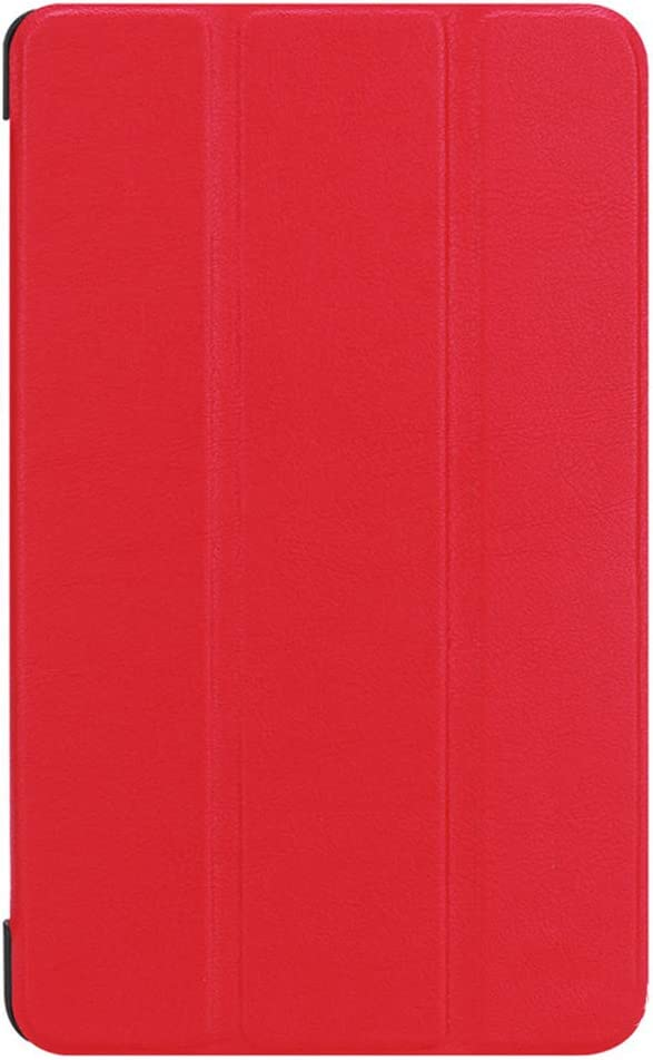 GOGODOG Acer Iconia One 8 B1-860 Case Ultra Slim Bumper Full Body Protection Leather Protective Case Tablet Holder Shell Protector for Acer B1-860 (Red)