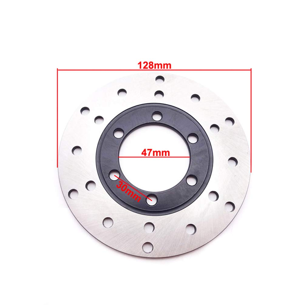 XLJOY 47mm ID 128mm OD Front Brake Disc Rotor for Chinese 125cc 150cc 200cc 250cc ATV Quad