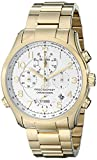Bulova Men's 97B139 Analog Display Analog Quartz Gold Watch