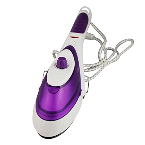 Purple Hot Portable Electric Mini Clothes Steam Iron For Home And Travelling Kitchen & Home