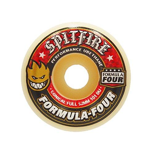 ボアグラフペリスコープスピットファイア (SPITFIRE) F4 101 DURO CONICAL FULL 52mm スケートボード ウィール スケボー