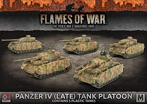 Flames of War: Mid War: German: Panzer IV (Late) (GBX121)