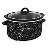 Crock-Pot 4-Quart Manual Slow Cooker in Pattern Finish