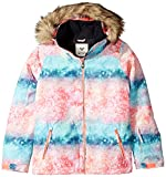 Roxy Big Girls' American Pie Snow Jacket, Neon Grapefruit_Solargradient, 16/XXL
