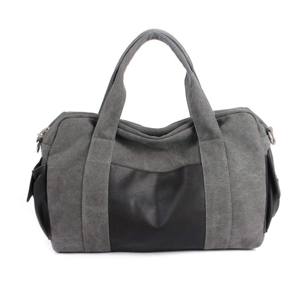 ZWS Reisetasche Männer Leinwand Herren Tasche Portable Multifunktionstasche