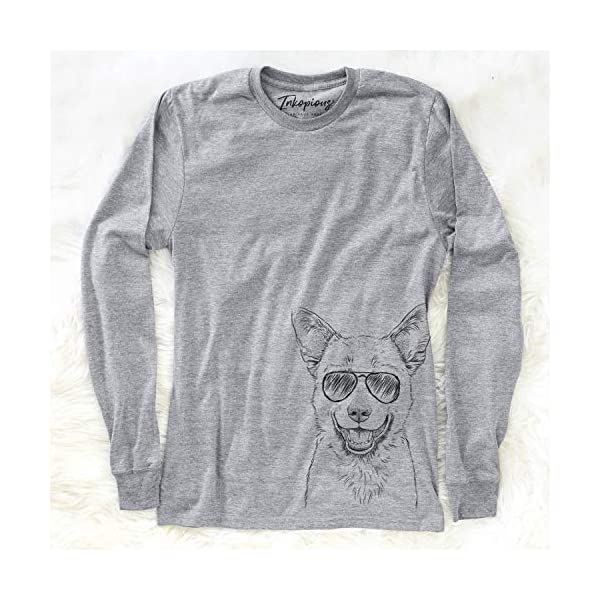 Aviator Arden The Australian Kelpie Dog Triblend T-Shirt 3
