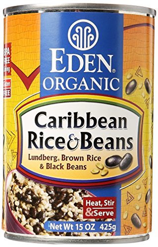 Eden Foods Caribbean Rice & Black Beans, 15 Ounce