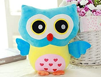 Amazon Com Kiki Monkey 12 Inch Cute Owl Plush Pillow Toys Kids