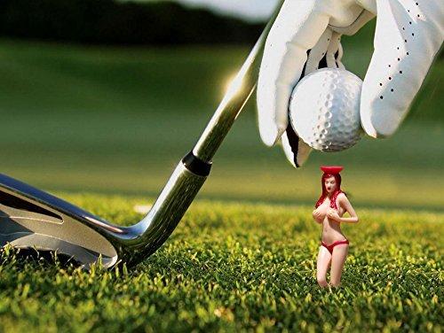 O'Rinn Golf Perky Tees Pin-up Girl Golf Tee, Pack of 6