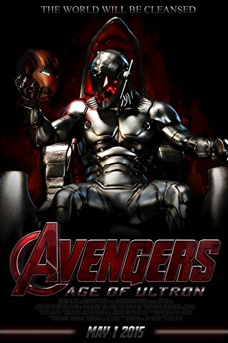Fit You New Marvel The Avengers 2 Age Of The Ultron Movie Art Silk Poster Room Decor Iron Man Thor Captain America 16 ()