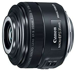 Canon EF-S 35mm f/2.8 Macro IS STM, Black