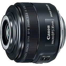 Canon EF-S 35mm f/2.8 Macro IS STM, Black