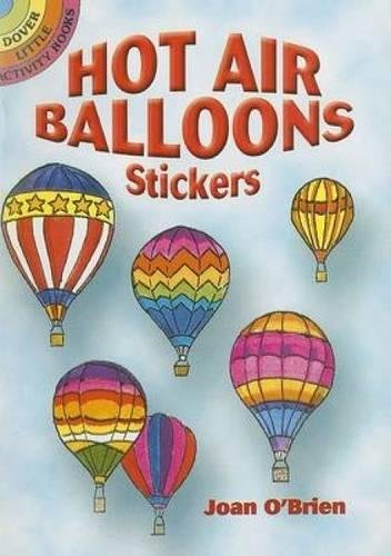 Read Online Hot Air Balloons Stickers (Dover Stickers) pdf epub