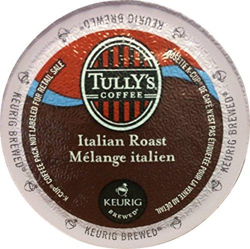 Tully's Coffee Italian Roast Coffee Keurig K-Cups, 24 Count (Pack of 3)