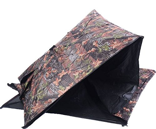 K&A Company Ground Hunting Blind Portable Deer Pop Up Camo Hunter Outdoor New Waterproof 2-3 Person Storage Bag by K&A Company (Image #2)
