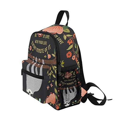 nbsp;Toddler nbsp;Backpack Sloth Funny nbsp;Bag nbsp;for nbsp;School Boys Tree Kids nbsp;Book nbsp;Girls ZZKKO wq1A74w