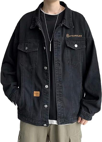 Heaven Days(ヘブンデイズ) Gジャン デニムジャケット ジージャン ブルゾン アウター デニム ジャケット ドロップショルダー 刺繍ロゴ メンズ 2101E0098