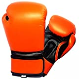 16oz Orange/Black Boxing Gloves