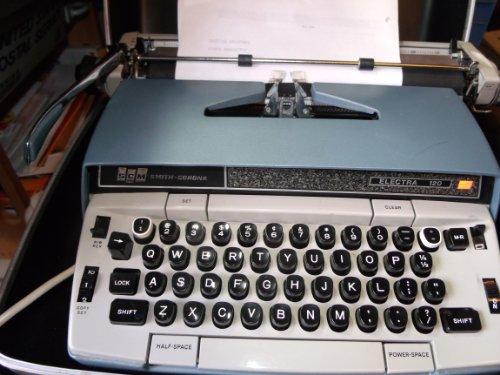 Price comparison product image Smith Corona Electra 120 Electric Typewriter