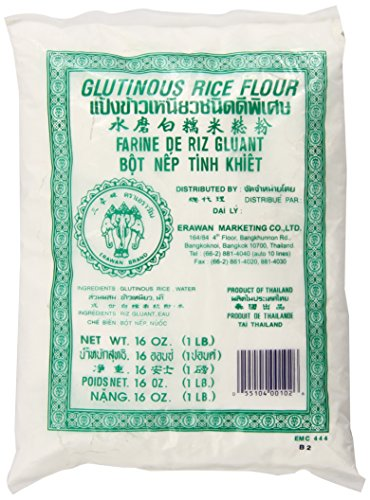 Glutinous Rice Flour 16 Ounce Erawan