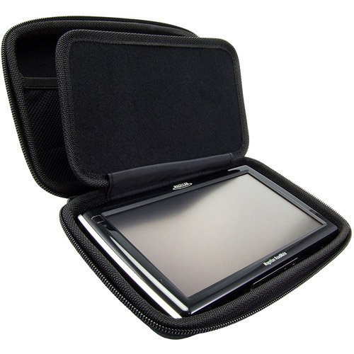 ChargerCity Extra Large Hard Shell Carry Case for 5 6 7 inch GPS Garmin Nuvi 55 57LM 67 68 68LMT 2639 2639LMT 2689 2689LMT 2757 2789 2797 2798 Drive DriveSmart 51 61 TOMTOM VIA GO 50 60 XXL START GPS by ChargerCity