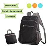 Lightweight Backpack Small Foldable Daypack Packable Travel Bag 20L Ultralight Water Resistant Durable for Hiking Camping Cycling Fishing