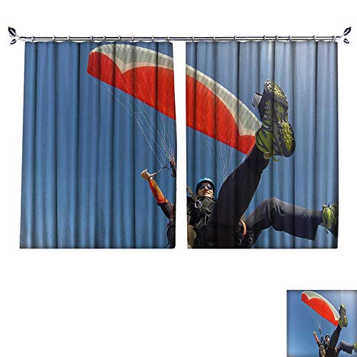 DESPKON Facial Blend Fabric high Density Paraglider Tandem from Below Shading for Bedroom W63 x L63