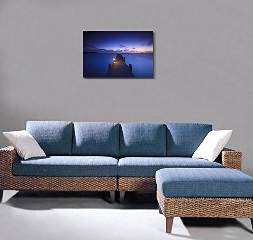 A Tranquil Sunset over a Lake in the Netherlands Wall Decor ation