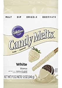 Wilton 1911-1366 Candy Melts, 12-Ounce, White