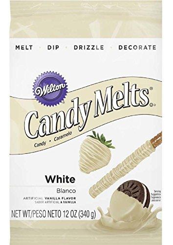 Wilton White Candy Melts Candy, 12 oz.